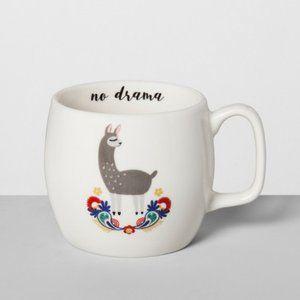 opalhouse no drama llama mug